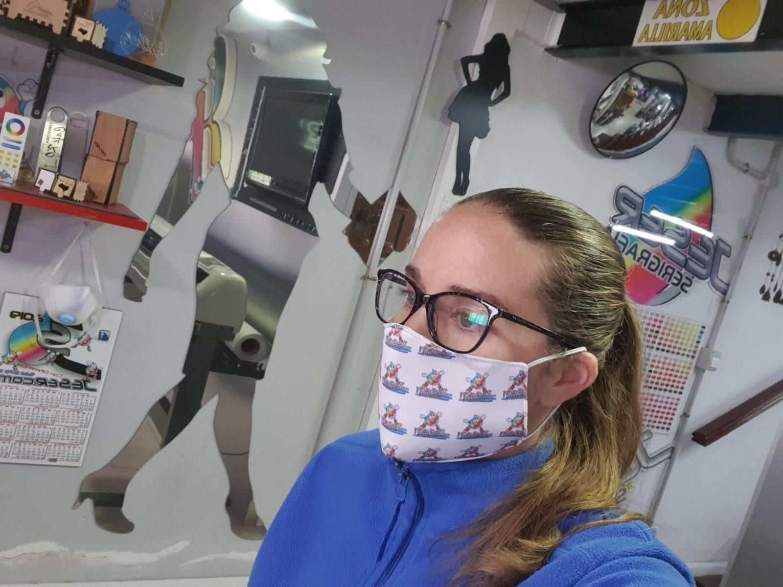 Mascaras de tela personalizadas